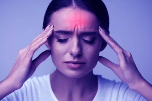 درمان سردرد با دستگاه