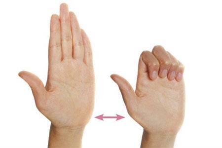 کاهش فشار برعصب مچ دست