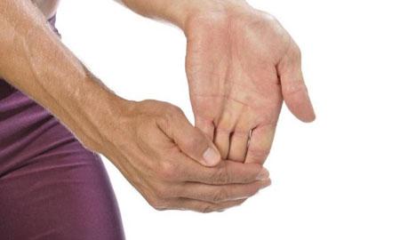 کاهش فشار بر عصب مچ دست