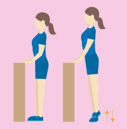 تمرین کشش ساق پا توانبخشیسکته مغزی
