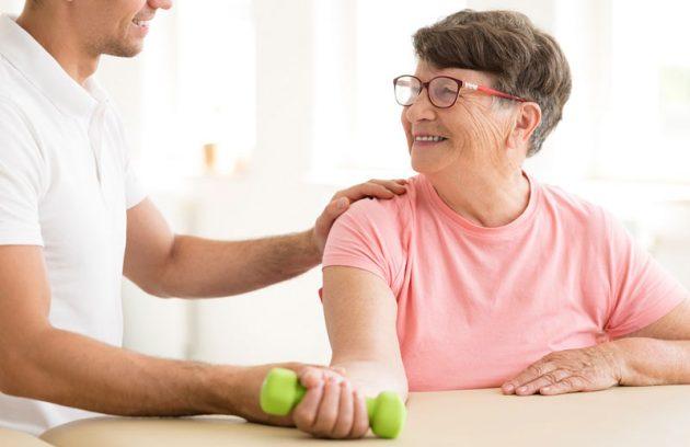 22 تمرین قدرتی دست بیمار سکته مغزی
